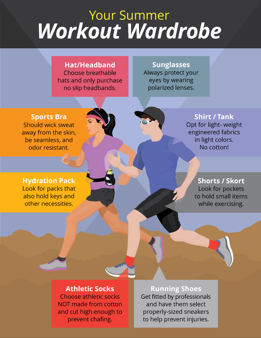 Summer workout style fitness health